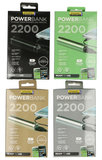 Dynamic Energy 2200 mAh powerbank zilver_