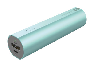 GP FN02MBU 2600 mAh powerbank blauw