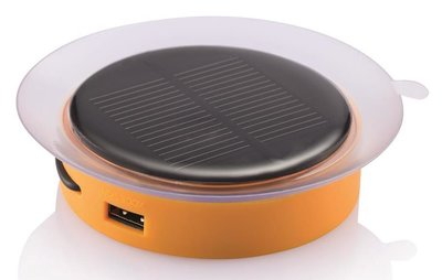 XD Design Port oranje 1000 mAh Solar powerbank