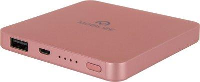 Mobilize 6000 mAh powerbank rosé goud