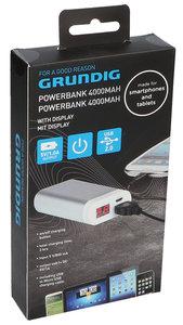 Grundig 4000 mAh Digital powerbank