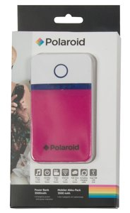 Polaroid 3500 mAh powerbank roze